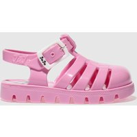 juju jellies pale pink nino Girls Toddler Sandals
