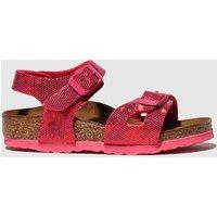 Birkenstock Pink Rio Sandals Toddler