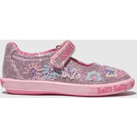 Lelli Kelly Pink Summer Dolly Shoes Junior