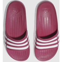 adidas pink duramo slide Youth Sandals