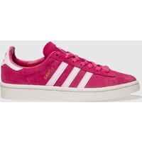 Adidas Pink Campus Trainers Youth