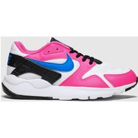 Nike White & Pink Ld Victory Trainers Youth