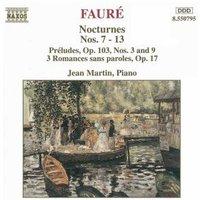 Jean Martin - Faure Nocturnen 7-13 Martin