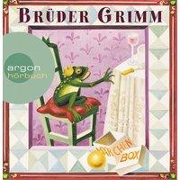 Brüder Grimm: Die Märchen Box: Schneewittchen / Dornröschen / Frau Holle / Der Froschkönig / Die Bremer Stadtmusikanten / Rapunzel / Der Hase und der Igel u.a