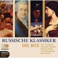 Russische Klassiker - Die Box. 5 Novellen und Erzählungen. 10 CDs