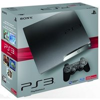 Sony PlayStation 3 slim 250 GB [incl. draadloze controller] zwart