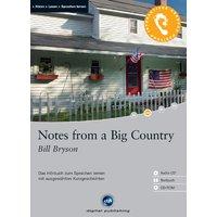 Notes from a Big Country: Das Hörbuch zum Sprachen lernen. Niveau A2 - Bill Bryson [Buch + CD-ROM + Audio CD]