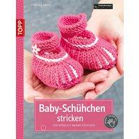 Baby-Schühchen stricken: Für wirklich warme Füße - Helga Spitz
