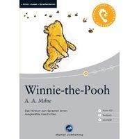 Winnie the Pooh: Das Hörbuch zum Sprachen lernen mit ausgewählten Kurzgeschichten - Alan Alexander Milne [Buch + Audio CD + CD-ROM]