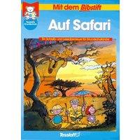 Mit dem Bibstift. Auf Safari. Ein Schreib- und Leseabenteuer für Grundschulkinder - Wolfram Aidenbach