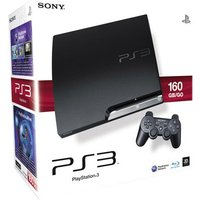 Sony PlayStation 3 slim 160 GB, [J-Model] zwart