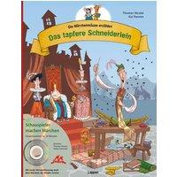 Die Märchenmäuse - Das tapfere Schneiderlein (mit CD) - Thomas Nicolai