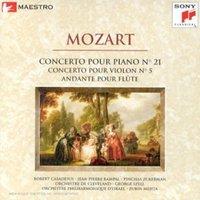Interprètes divers - Concerto Pour Piano N 21;Concerto Pour Violon N 5;Andante Pour Flûte