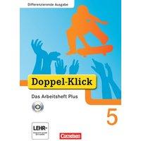 Doppel-Klick - Differenzierende Ausgabe: 5. Schuljahr - Das Arbeitsheft Plus mit CD-ROM - Grit Adam