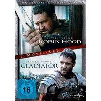 Robin Hood und Gladiator (DVD) Russel Crow Doppelset