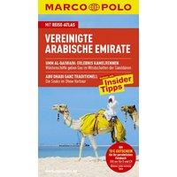 MARCO POLO Reiseführer Vereinigte Arabische Emirate mit Szene-Guide, 24h Action pur, Insider-Tipps, Reise-Atlas: Reisen mit Insider Tipps - Manfred Wöbcke