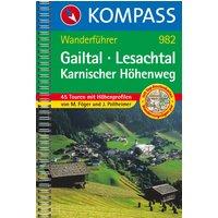 Gailtal - Lesachtal - Karnischer Höhenweg: Wanderführer mit Top-Routenkarten und Höhenprofilen - Manfred Föger