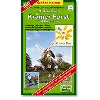 Krämer Forst  und Umgebung 1 : 35 000. Radwander- und Wanderkarte: Ausflüge zwischen Spandau, Nauen, Linum, Heiligensee und Oranienburg