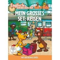 Englisch entdecken mit Ben & Bella: Mein grosses Set - Reisen [2 DVDs + Bücher]
