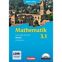 Bigalke/Köhler: Mathematik Sekundarstufe II - Hessen - Neubearbeitung: Band 3.1: Leistungskurs - 3. Halbjahr - Schülerbuch mit CD-ROM - Dr. Anton Bigalke