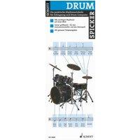 Drum-Spicker: Die praktische Rhythmustabelle für Schlagzeug und Drum-Computer. Schlagzeug. - Diverse