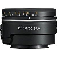 Sony 50 mm F1.8 DT SAM 49 mm Objetivo (Montura Sony A-mount) negro