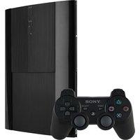 Sony PlayStation 3 super slim 500 GB  [incl. draadloze controller] zwart