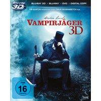 Abraham Lincoln - Vampirjäger 3D [inkl. 2D Blu-ray, & DVD]