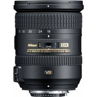 Nikon AF-S DX NIKKOR 18-200 mm F3.5-5.6 ED G VR II 72 mm filter (geschikt voor Nikon F) zwart