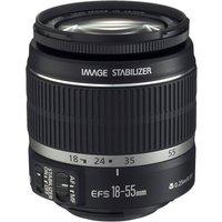 Canon EF-S 18-55 mm F3.5-5.6 IS 58 mm filter (geschikt voor Canon EF-S) zwart