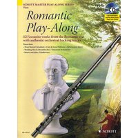 Romantic Play-Along for Flute: 12 Favourite works from the Romantic era, with authentic orchestral backing tracks - Artem Vassiliev [With CD]