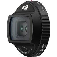 Panasonic 3D Lumix G 12,5 mm F12.0 (geschikt voor Micro Four Thirds) zwart