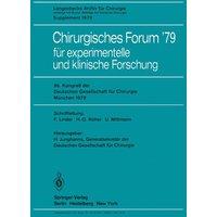 Chirurgisches Forum 79: für experimentelle und klinische Forschung (Deutsche Gesellschaft für Chirurgie / Forumband) - Hans-Dietrich Röher, Fritz Linder