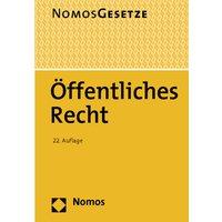 Nomos Gesetze - Rechtsstand: Öffentliches Recht [22. Auflage 2013]