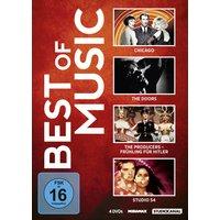 Best of Music: Chicago / Studio 54 / The Doors / The Producers - Frühling für Hitler [4 DVDs]