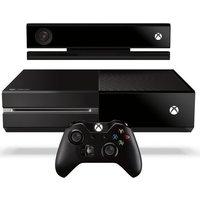 Microsoft Xbox One 500 GB [incl. Kinect Sensor en draadloze controller] zwart