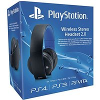 PlayStation draadloze stereo headset 2.0 zwart