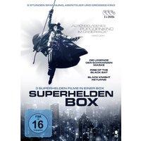 Die Superhelden Box (Die Legende der schwarzen Maske, Rise of the black Bat, Black Knight returns) [3 DVDs]