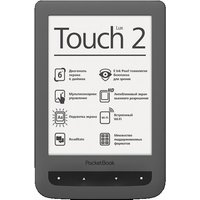 PocketBook Touch Lux 2 6 4GB [wifi] grijs