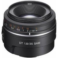 Sony 35 mm F1.8 DT SAM 55 mm filter (geschikt voor Sony A-mount) zwart