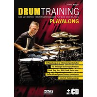 Drum Training Playalong + MP3-CD: Das ultimative Trainingsprogramm für das Schlagzeug - Metzger, Patrick