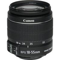 Canon EF-S 18-55 mm F3.5-5.6 IS II 58 mm filter (geschikt voor Canon EF-S) zwart