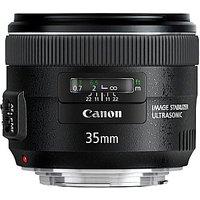 Canon EF 35 mm F2.0 IS USM 67 mm filter (geschikt voor Canon EF) zwart