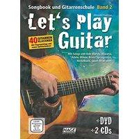 Let's Play Guitar Band 2: Songbook und Gitarrenschule + DVD + 2 CDs. Mit Songs von Bob Marley, Nirvana, Adele, Milow, Bruce Springsteen, Nickelback, Jason Mraz uvm - Espinosa, Alexander