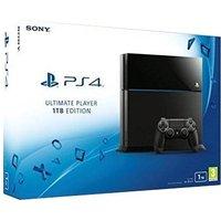 Sony PlayStation 4 1 TB [Ultimate Player Edition, mando inalámbrico incluído] negro