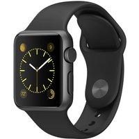 Apple Watch Sport 38mm gris espacial con correa deportiva negra [Wifi]