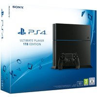 Sony PlayStation 4 1 TB [Ultimate Player Edition incl. draadloze controller] mat zwart