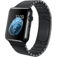 Apple Watch 42 mm zwart met schakelarmband zwart [wifi]