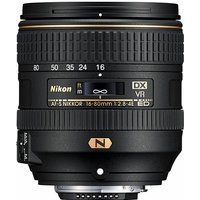 Nikon AF-S NIKKOR 16-80 mm F2.8-4.0E ED VR 72 mm filter (geschikt voor Nikon F) zwart