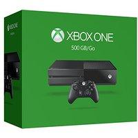 Microsoft Xbox One 500 GB [incl. draadloze controller ] mat zwart